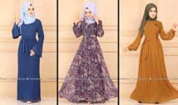 Modaselvim 2020 Kışlık Tesettür Elbise Modelleri 29/34   2020 Kışlık Modaselvim Elbise Modelleri