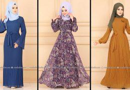 Modaselvim 2020 Kışlık Tesettür Elbise Modelleri 29/34 | 2020 Kışlık Modaselvim Elbise Modelleri