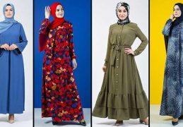 Sefamerve Tesettür Elbise Modelleri 1 [2020] | Reformation Clothing