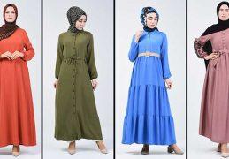Sefamerve Tesettür Elbise Modelleri 3 [2020] | Reformation Clothing