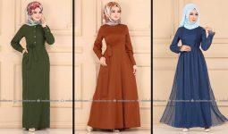 Modaselvim 2020 Kışlık Tesettür Elbise Modelleri 34/34 | 2020 Kışlık Modaselvim Elbise Modelleri