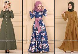 Modaselvim 2020 Kışlık Tesettür Elbise Modelleri 31/34 | 2020 Kışlık Modaselvim Elbise Modelleri