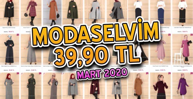 [2020 MART] ModaSelvim 39,90 TL Kampanyalı İndirimli Tesettür Ürünler | Elbise Modelleri