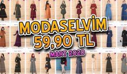 [2020 MART] ModaSelvim 59,90 TL Kampanyalı İndirimli Tesettür Ürünler | Elbise Modelleri