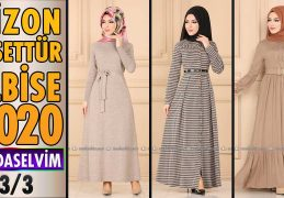 2020 Kış Modaselvim Vizon Tesettür Elbise Modelleri 3/3 | Modaselvim Elbise Modelleri