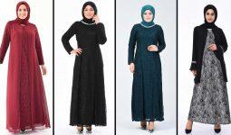 2020 Sefamerve Büyük Beden Abiye Elbise Modelleri 1 | Plus Size Abendkleid - Evening Dress