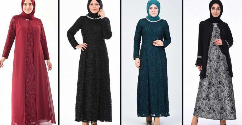 2020 Sefamerve Büyük Beden Abiye Elbise Modelleri 1   Plus Size Abendkleid - Evening Dress
