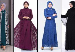 2020 Sefamerve Büyük Beden Abiye Elbise Modelleri 2 | Plus Size Abendkleid - Evening Dress