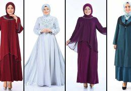 2020 Sefamerve Büyük Beden Abiye Elbise Modelleri 3 | Plus Size Abendkleid - Evening Dress