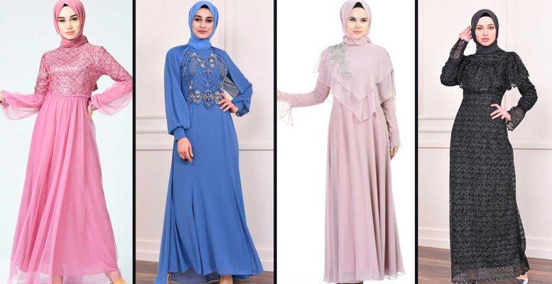 [2020] Sefamerve Tesettür Abiye Elbise Modelleri 1/30 | Abendkleid - Evening Dress