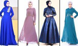 [2020] Sefamerve Tesettür Abiye Elbise Modelleri 3/30   Abendkleid - Evening Dress