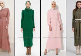 Modanisa 2020 İlkbahar Yaz Tesettür Elbise Modelleri Galeri 1 | Elbise Modelleri