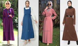 Modanisa 2020 İlkbahar Yaz Tesettür Elbise Modelleri Galeri 8 | Elbise Modelleri