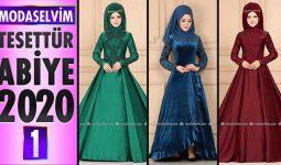 Modaselvim Abiye 2020 [1]   Modaselvim Tesettür Abiye Elbise Modelleri   Abendkleid - Evening Dress