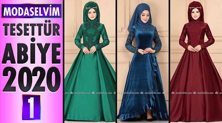 Modaselvim Abiye 2020 [1] | Modaselvim Tesettür Abiye Elbise Modelleri | Abendkleid - Evening Dress