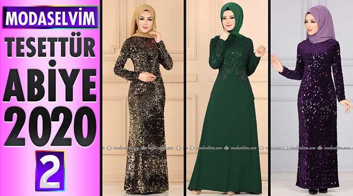 Modaselvim Abiye 2020 [2] | Modaselvim Tesettür Abiye Elbise Modelleri | Abendkleid - Evening Dress