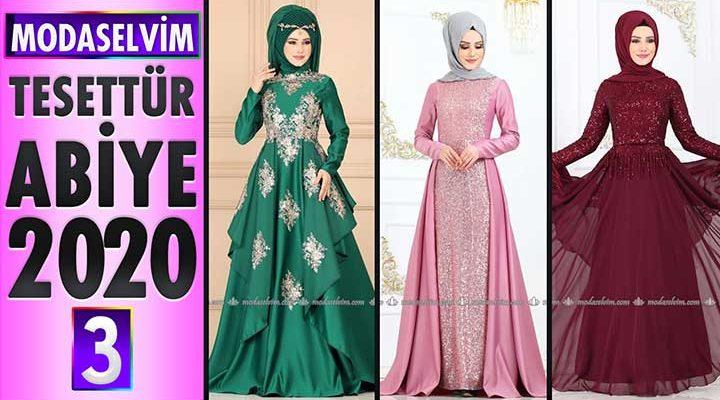 Modaselvim Abiye 2020 [3] | Modaselvim Tesettür Abiye Elbise Modelleri | Abendkleid - Evening Dress