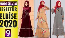 Modaselvim Elbise Modelleri 2020 [9]   Moda Selvim Yeni Sezon Tesettür Elbise Modelleri