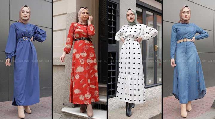 Lamelif Tesettür Elbise Modelleri 1 [2020] | Reformation Clothing - Lamelif Elbise