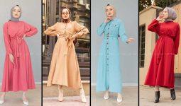 Lamelif Tesettür Elbise Modelleri 2 [2020] | Reformation Clothing - Lamelif Elbise