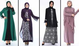 2020 Sefamerve Büyük Beden Abiye Elbise Modelleri 10 | Plus Size Abendkleid - Evening Dress