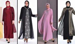 2020 Sefamerve Büyük Beden Abiye Elbise Modelleri 7 | Plus Size Abendkleid - Evening Dress