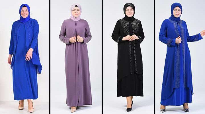 2020 Sefamerve Büyük Beden Abiye Elbise Modelleri 8 | Plus Size Abendkleid - Evening Dress