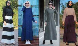 Modanisa 2020 İlkbahar Yaz Tesettür Elbise Modelleri Galeri 10 | Elbise Modelleri
