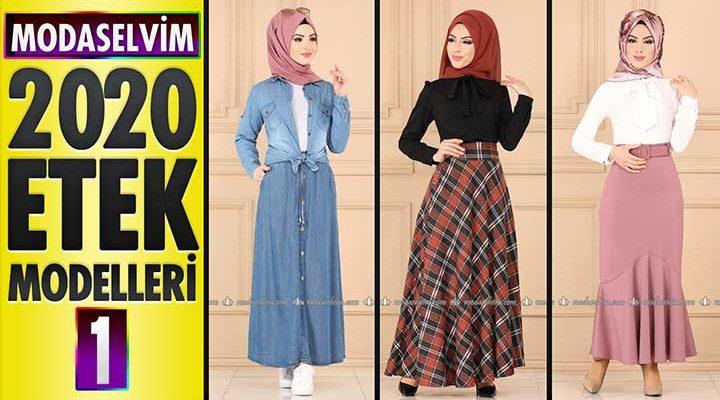 Modaselvim Etek Modelleri 2020 (İlkbahar Yaz) 1/3 | Skirts - Jupe - Rock - تنورة
