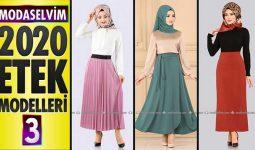 Modaselvim Etek Modelleri 2020 (İlkbahar Yaz) 3/3 | Skirts - Jupe - Rock - تنورة