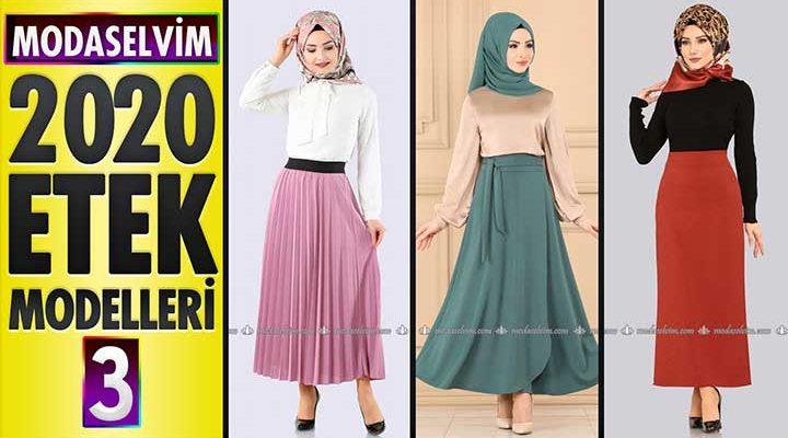 Modaselvim Etek Modelleri 2020 (İlkbahar Yaz) 3/3   Skirts - Jupe - Rock - تنورة