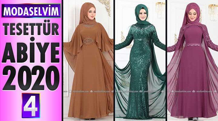 Modaselvim Abiye 2020 [4]   Modaselvim Tesettür Abiye Elbise Modelleri   Abendkleid - Evening Dress