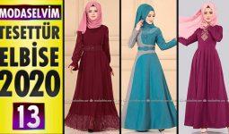 Modaselvim Elbise Modelleri 2020 [ 13 ]   Moda Selvim Yeni Sezon Tesettür Elbise Modelleri