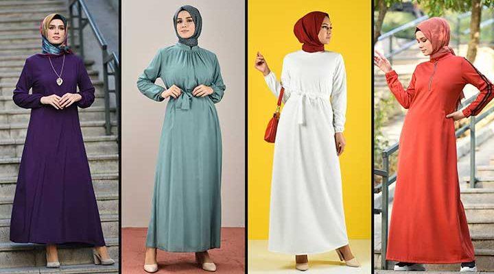 2020 Sefamerve Tesettür Elbise Modelleri 10 | Reformation Clothing