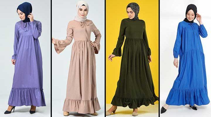 2020 Sefamerve Tesettür Elbise Modelleri 7 | Reformation Clothing