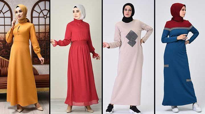 2020 Sefamerve Tesettür Elbise Modelleri 9 | Reformation Clothing