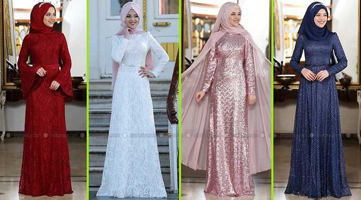 Al-Marah Tesettür Abiye 2020 [ 2 ]   The Most Stunning Hijab Evening Dresses 2020