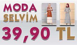 ModaSelvim 39,90 TL Kampanyalı İndirimli Tesettür Ürünler [Mayıs 2020] | Moda Selvim 39,90 Elbise