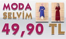 ModaSelvim 49,90 TL Kampanyalı İndirimli Tesettür Ürünler 1 [Mayıs 2020] | Moda Selvim 49,90 Elbise