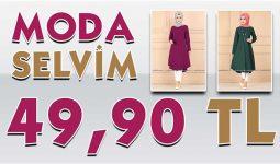 ModaSelvim 49,90 TL Kampanyalı İndirimli Tesettür Ürünler 2 [Mayıs 2020] | Moda Selvim 49,90 Elbise