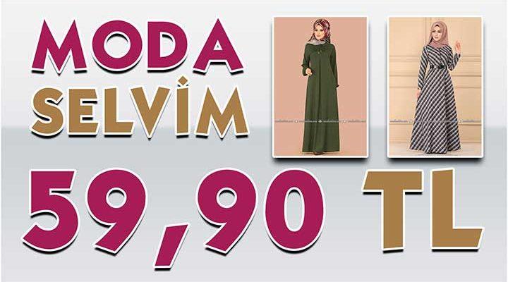ModaSelvim 59,90 TL Kampanyalı İndirimli Tesettür Ürünler 1 [Mayıs 2020] | Moda Selvim 59,90 Elbise