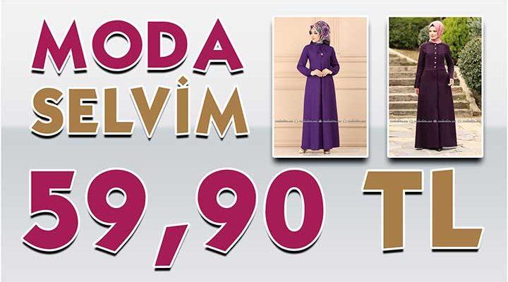 ModaSelvim 59,90 TL Kampanyalı İndirimli Tesettür Ürünler 2 [Mayıs 2020] | Moda Selvim 59,90 Elbise