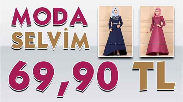 ModaSelvim 69,90 TL Kampanyalı İndirimli Tesettür Ürünler [Mayıs 2020] | Moda Selvim 69,90 Elbise