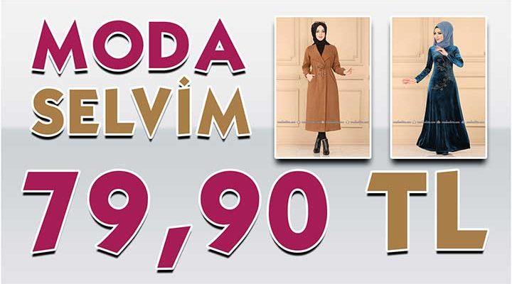 ModaSelvim 79,90 TL Kampanyalı İndirimli Tesettür Ürünler [Mayıs 2020]   Moda Selvim 79,90 Elbise