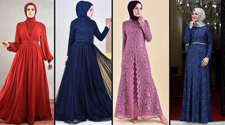 [2020] Sefamerve Tesettür Abiye Elbise Modelleri 6/30   Abendkleid - Evening Dress