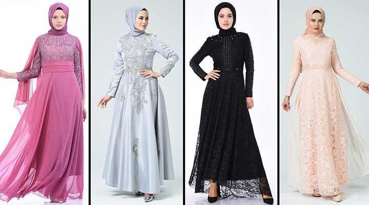 [2020] Sefamerve Tesettür Abiye Elbise Modelleri 7/30   Abendkleid - Evening Dress
