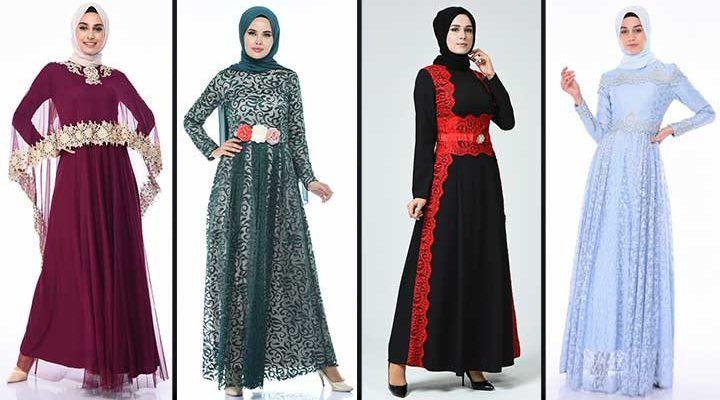 [2020] Sefamerve Tesettür Abiye Elbise Modelleri 8/30 | Abendkleid - Evening Dress