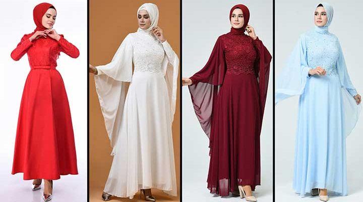 [2020] Sefamerve Tesettür Abiye Elbise Modelleri 9/30   Abendkleid - Evening Dress