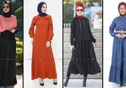 Modanisa 2020 İlkbahar Yaz Tesettür Elbise Modelleri Galeri 11 | Elbise Modelleri