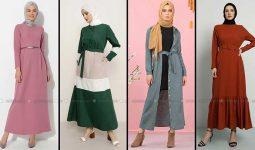 Modanisa 2020 İlkbahar Yaz Tesettür Elbise Modelleri Galeri 15 | Elbise Modelleri